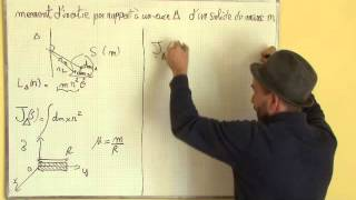 moment cinétique, solide en rotation / II-1 moment d