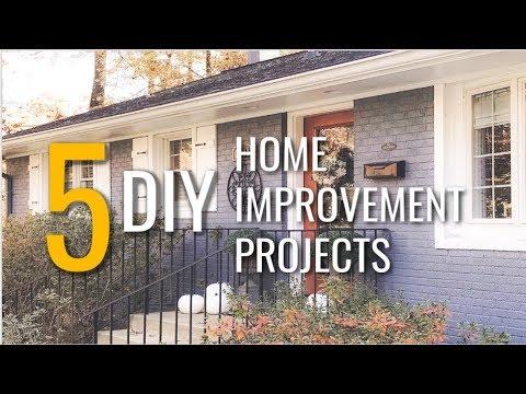 5 Clever DIY Home Improvement Ideas ♡ MissJustinaMarie
