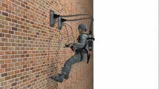 PVAC gives US troops wall climbing ability