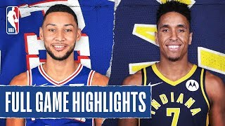 76ERS at PACERS   FULL GAME HIGHLIGHTS   January 13, 2020