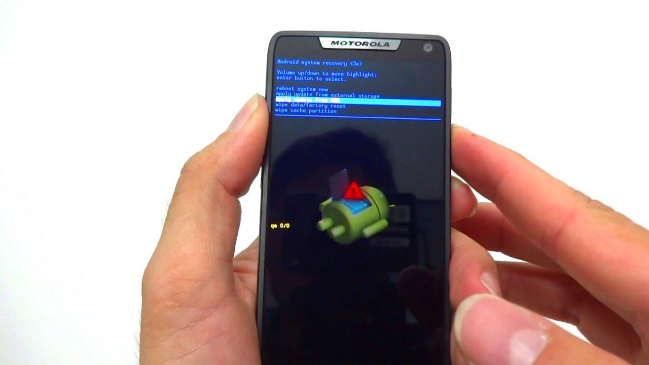 Como Formatar Motorola Razr I Xt890 Hard Reset