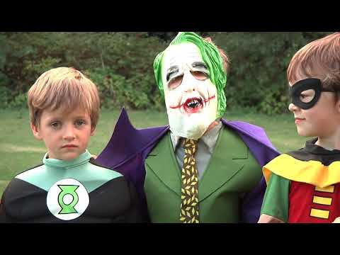 Kid Deadpool vs Batman in Real Life Halloween Costumes | New Little Superheroes | SuperHer