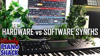 The Great HARDWARE vs SOFTWARE SYNTH Debate
