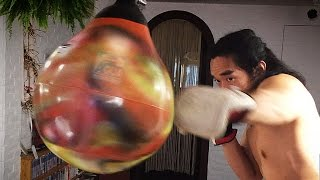 Master Alley - Aqua Punching Bag Test and review