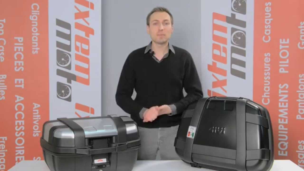 Top Case Givi Trekker 52 Litres Par Ixtem Moto Youtube