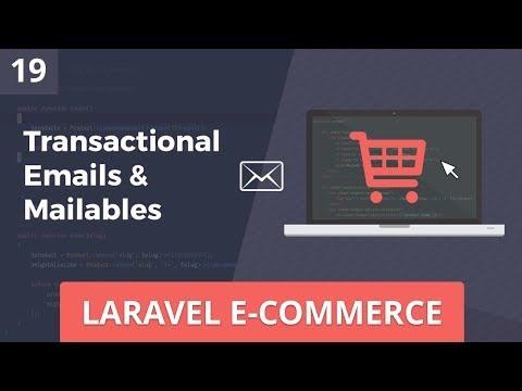 Laravel E-Commerce - Transactional Email - Part 19