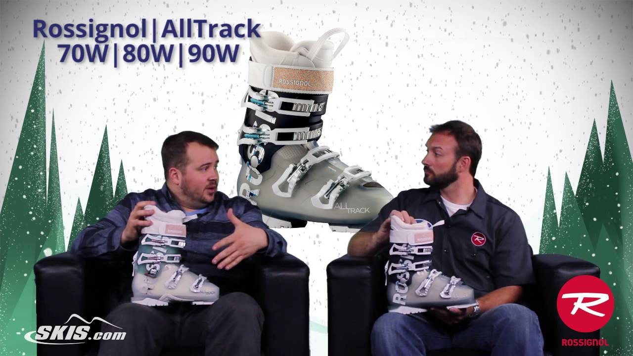 2016 Rossignol AllTrack 70, 80, and 90 Womens Boot Overview by SkisDotCom