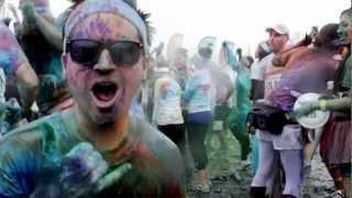 Color Run | Tempe 2013 | Rainbows + Rain!