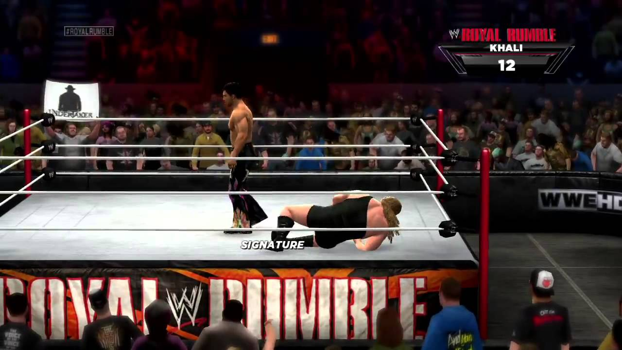 WWE 2K14 - 30-man Royal Rumble