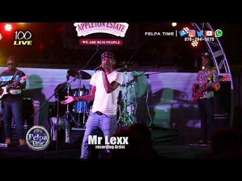 MR LEXX  Performance at 100 LIVE 90'S DANCEHALL