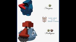 Pokemon Platino - Como Evolucionar A Nosepass En Probopass