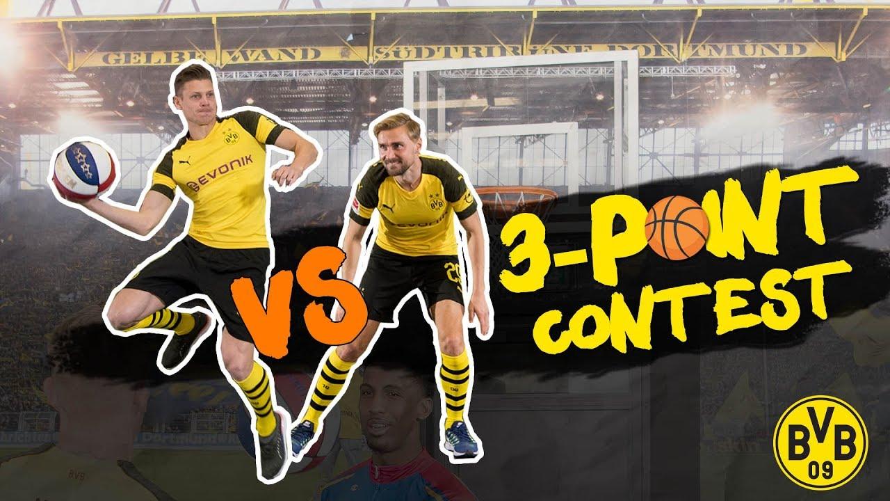 Lukasz Piszczek vs. Marcel Schmelzer |BVB 3-Point-Contest