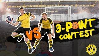 Lukasz Piszczek vs. Marcel Schmelzer |BVB 3-Point Contest 🏀