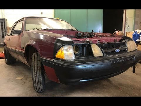 1990 LX Coupe Project McNugget pt 5 Budget Mustang Fox Body Drag Car