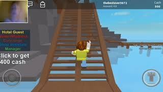 playing roblox epesode 1 can that eme butt it's ok