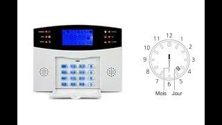 Alarmes 99 Zones RTC : Réglage du jour et du mois(Comment régler le jour et le mois de votre centrale 99 Zones RTC Commencez par saisir votre code secret suivi de la touche d'appel (celle qui ressemble à une ..., 2015-09-23T13:15:50.000Z)