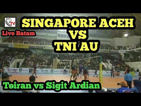 SINGAPORE VC ACEH VS TNI AU JAKARTA FINAL VOLLY BATAM