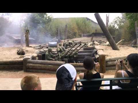 WW2 Reenactment, Nimitz Museum in Fredricksburg TX WWII