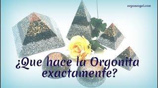 ¿Qué hace la Orgonita? por Mari Carmen Lozano - Orgonangel