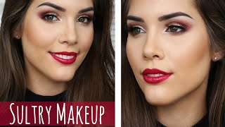 Sultry Gold + Wine Makeup Tutorial