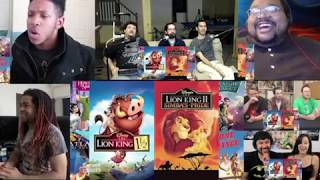 Honest Trailers -The Lion King( Reaction Mashup)