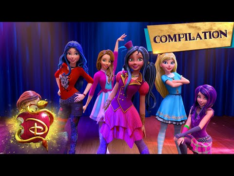 Wicked World Compilation | Part 1 of 4 | Descendants: Wicked World