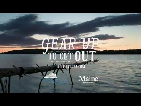 Gear up to Get Out in Freeport, Maine