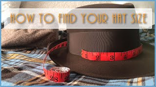 my1928 - How To Find Your Hat Size