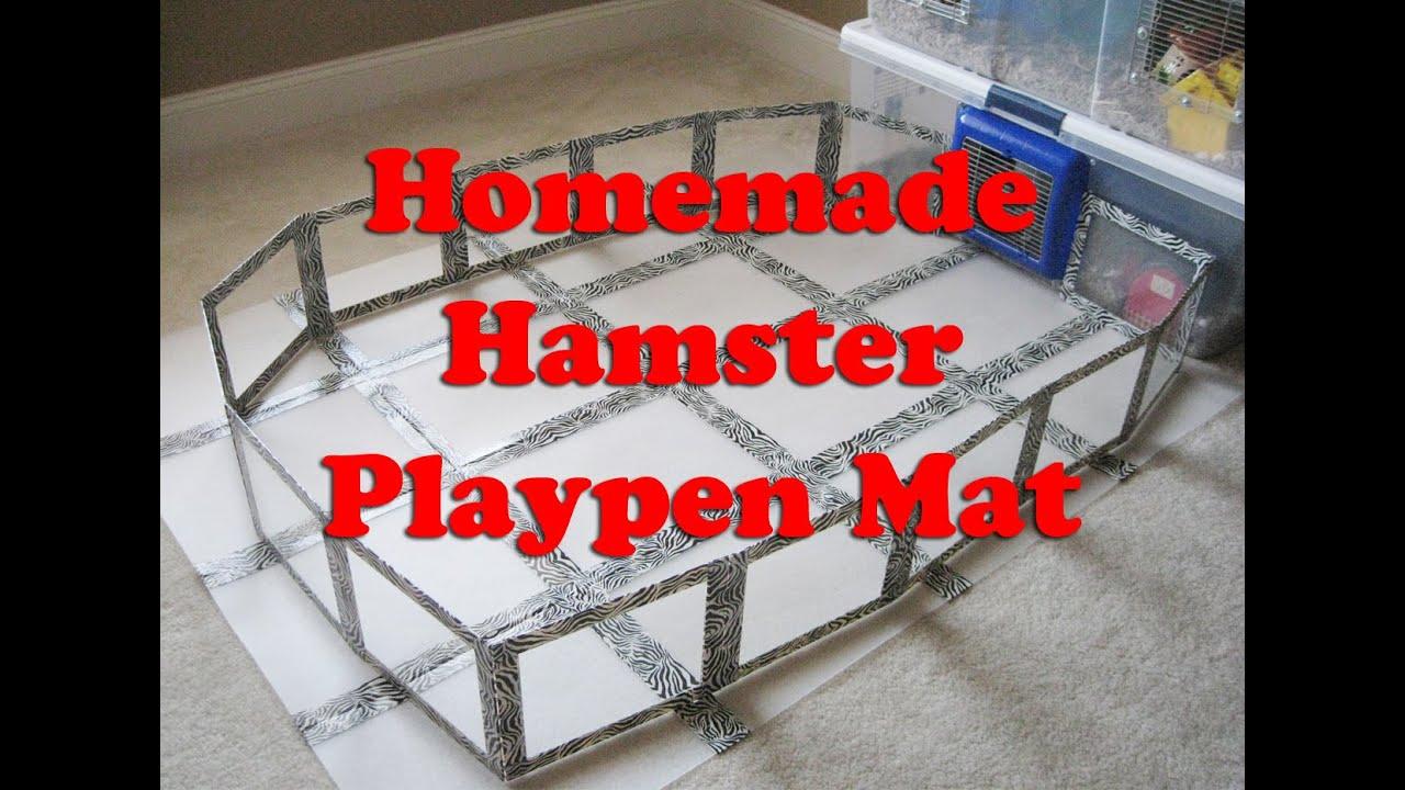 Homemade Hamster Playpen Mat By Hammy Time Youtube