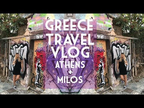 Greece Travel Vlog | Athens + Milos