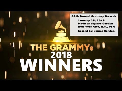 Grammy's 2018 - ALL WINNERS | The 60th Grammy Awards 2018 | Jan 28th, 2018 | ChartExpress