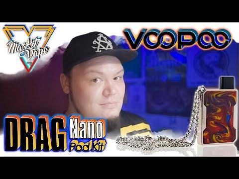 Drag Nano by VooPoo | 750mAh Pod Kit | Милота 😎