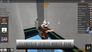 ESCONDERIJO SECRETO - Roblox (Murder Mystery 2) Bank | Vih Gameblox