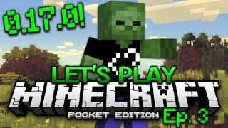 minecraft pe survival lets play ep 3 0170 adventure begins