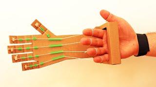 Как сделать роботизированную руку в домашних условиях из картона