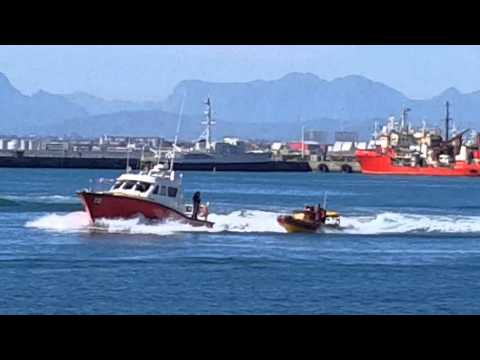 NSRI water rescue at Port of Cape Town Festival
