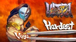 Ultra Street Fighter IV - Vega Arcade Mode (HARDEST)