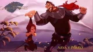 Video Juego de Tronos versión dibujos de Disney