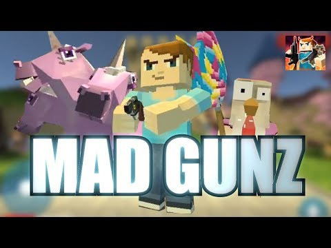MAD GUNZ Gameplay Part 1 - Getting Started (iOS Android)