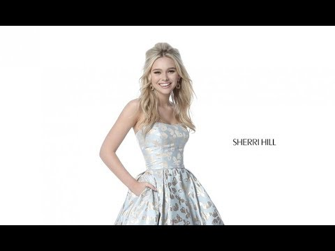 546d1f135c Sherri Hill 51597 Prom Dress - YouTube