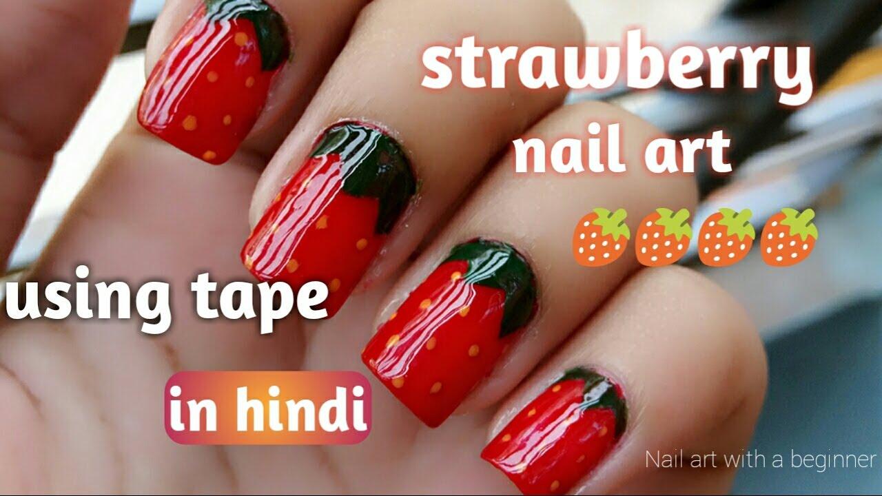 Nail Art Ideas Strawberry Toe Nail Art Pictures Of Nail Art