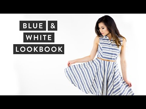 Blue & White Lookbook   Spring to Summer Outfits   Fashion & Clothes   Miss Louie