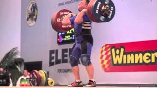 Andrei Aramnau (105) - 212kg & 220kg jerks
