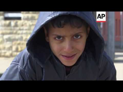 Migrants speak about life in small German town