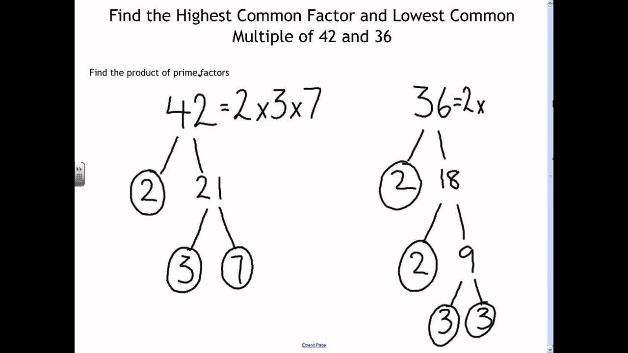 worksheet Least Common Factor Duliziyou Worksheets for – Greatest Common Factor and Least Common Multiple Worksheets