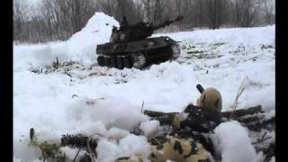 RC tank 1:16 Airsoft, Smog, German Panther