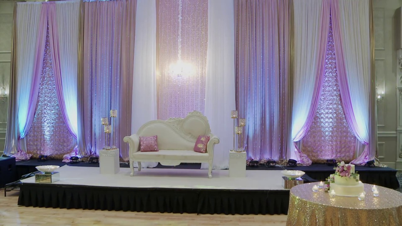 wedding backdrop setup toronto wedding decorations gta forever video youtube. Black Bedroom Furniture Sets. Home Design Ideas