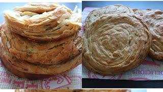 КАТЛАМА с луком безумно вкусная слоеная лепешка Katlama with onions