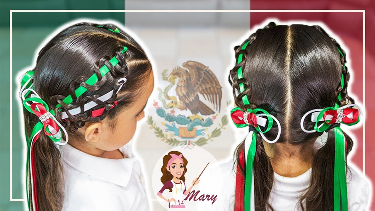 Peinados para las fiestas mexicanas