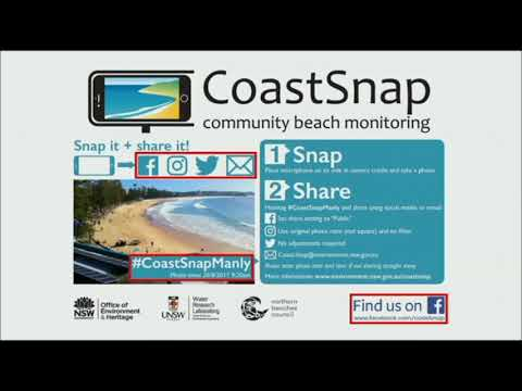M Kinsela: CoastSnap - Community Beach Monitoring In Your Pocket